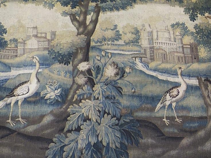 Tapisserie Musee oiseaux eloignes